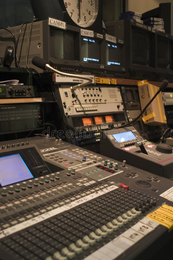 stacja tv zdjęcia stock