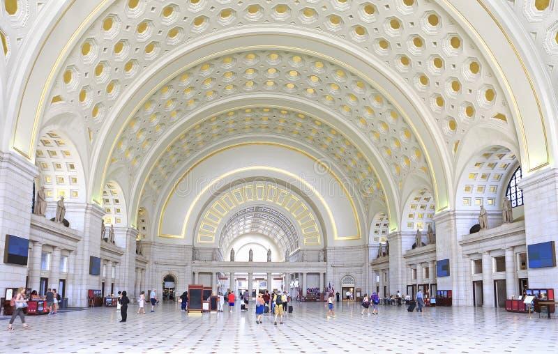 Stacja Unii w Waszyngtonie fotografia stock