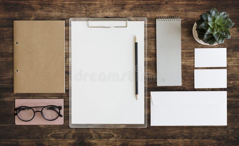 Stacjonarny dokument papierkowej roboty organizaci pojęcie fotografia stock