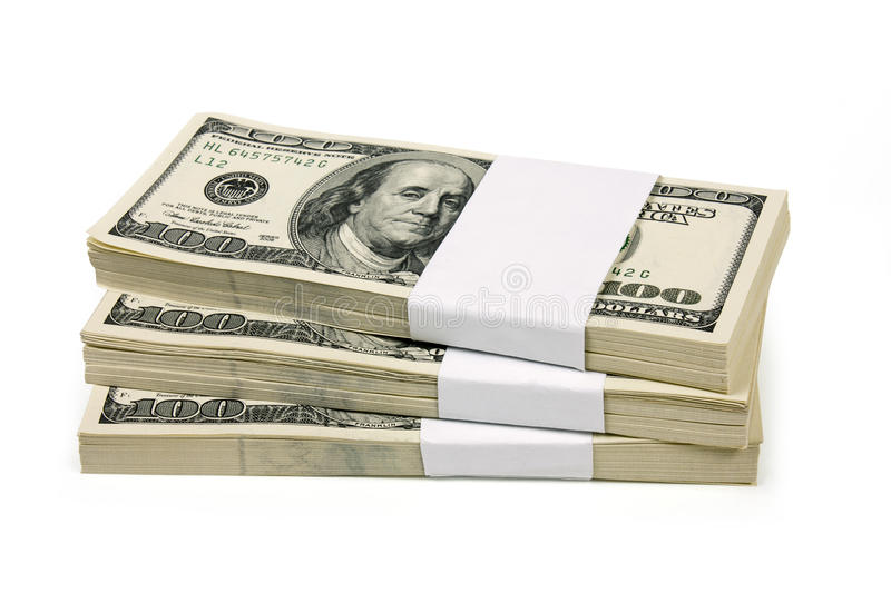 Download Stack of $100 bills stock photo. Image of heap, frame - 19059248