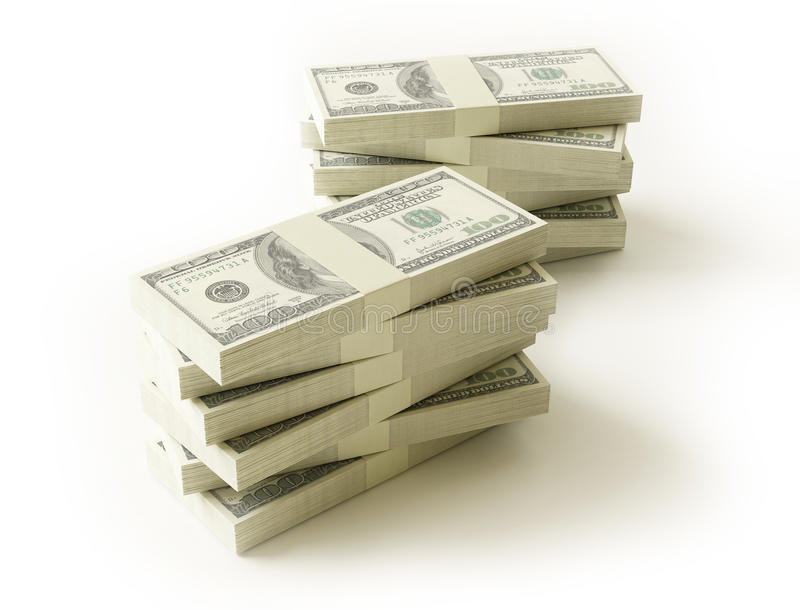 Download Stack Of $100 Bills Stock Photography - Image: 28920252