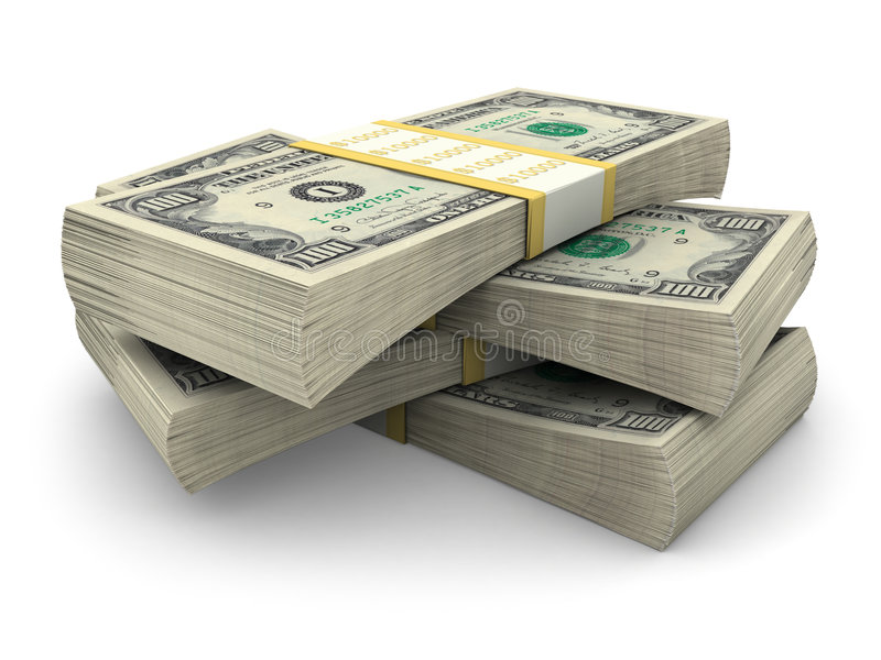 Download Stack Of $100 Bills Royalty Free Stock Photos - Image: 3649208