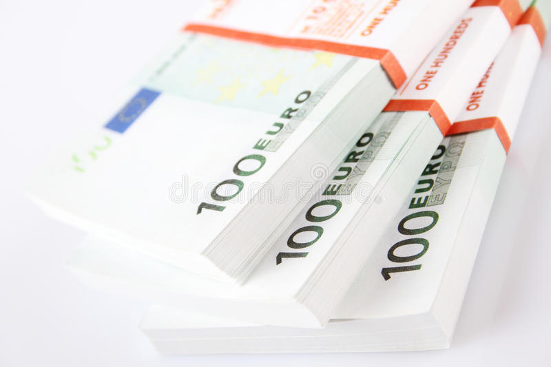 Download Stack of 100€ bills stock image. Image of backgrounds - 33583317