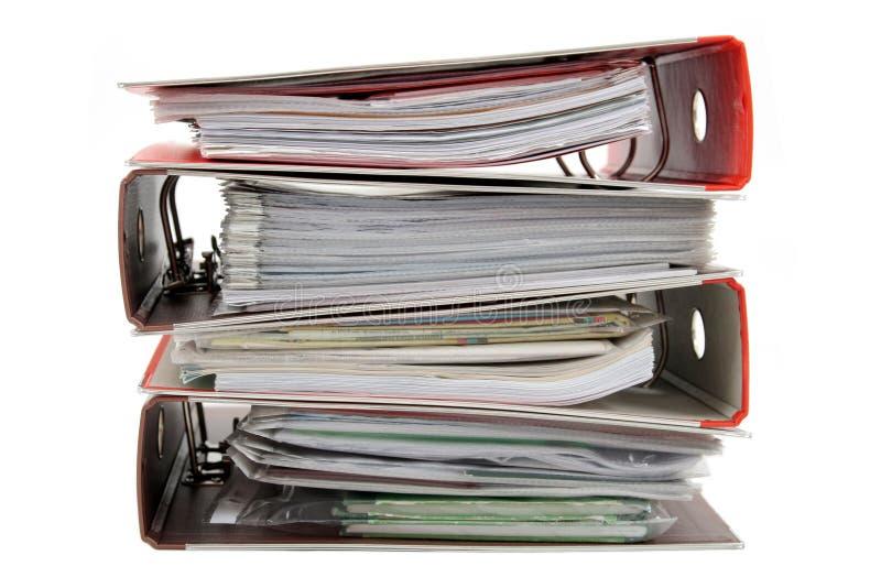 Download Stack of Binders stock photo. Image of binder, business - 468550
