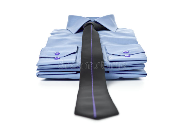 Download Stack Of Blue Shirts Royalty Free Stock Image - Image: 18936056