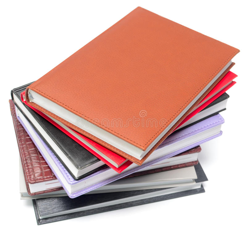 Download Stack of book stock photo. Image of isolated, diary, stack - 21752244