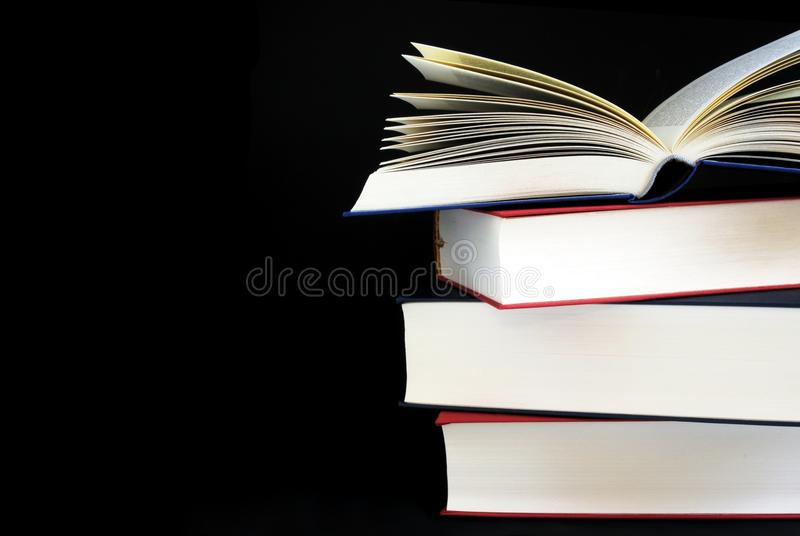 Download Stack of books stock image. Image of educational, literature - 14156855