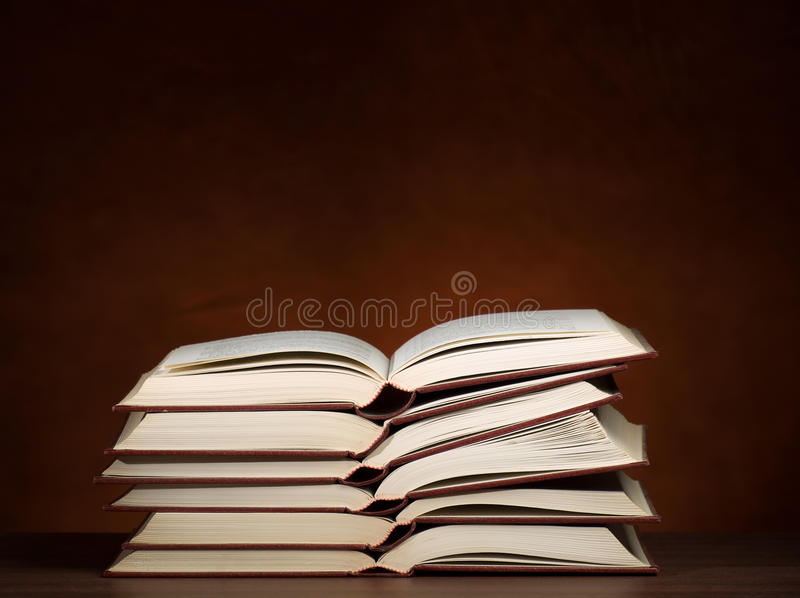 Download Stack of books stock photo. Image of college, research - 17011238