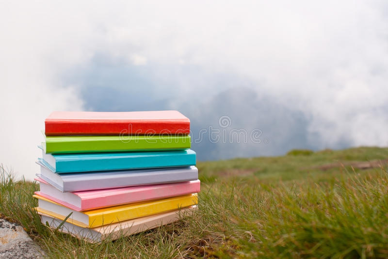 Download Stack of the books stock image. Image of group, closeup - 19931489