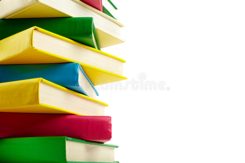 Download Stack of books stock image. Image of design, isolated - 22926157