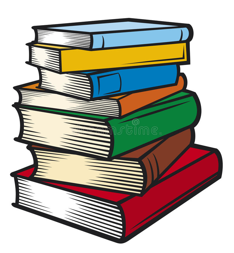 Download Stack of books stock image. Image of business, documents - 23026923