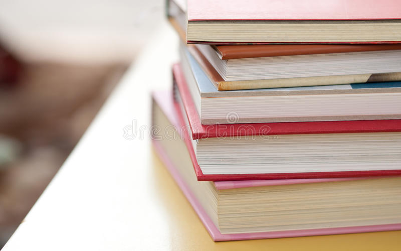 Download Stack of books stock image. Image of information, group - 24430443