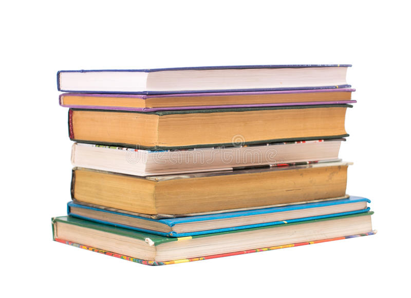 Download Stack of books stock image. Image of cover, paper, reading - 25820381