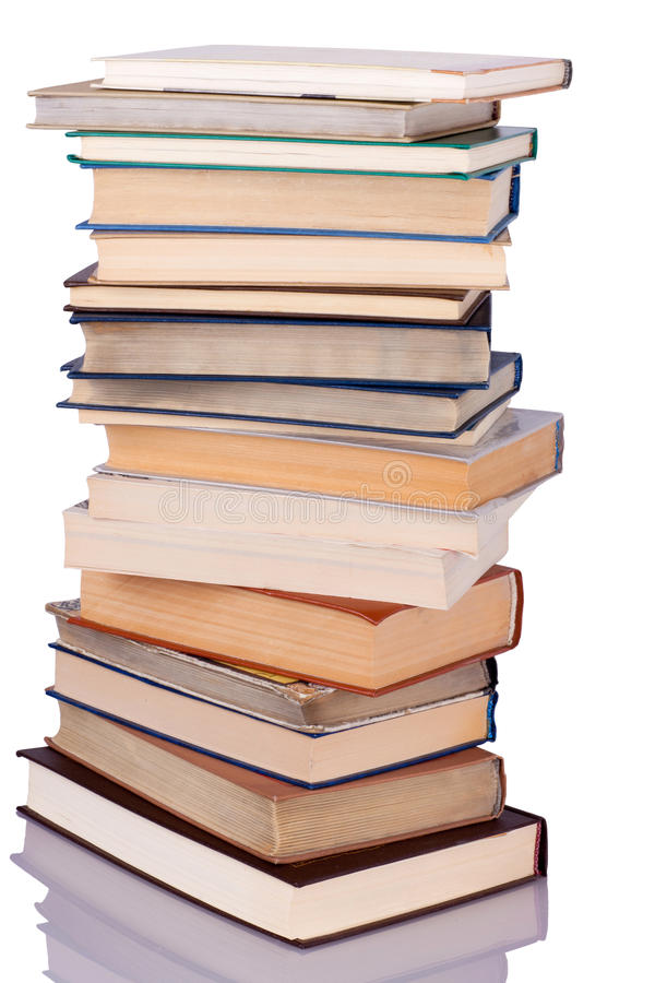 Download Stack of books stock image. Image of library, coffee - 26576867