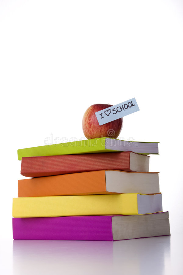 Download Stack of books stock photo. Image of pile, heap, health - 6176706