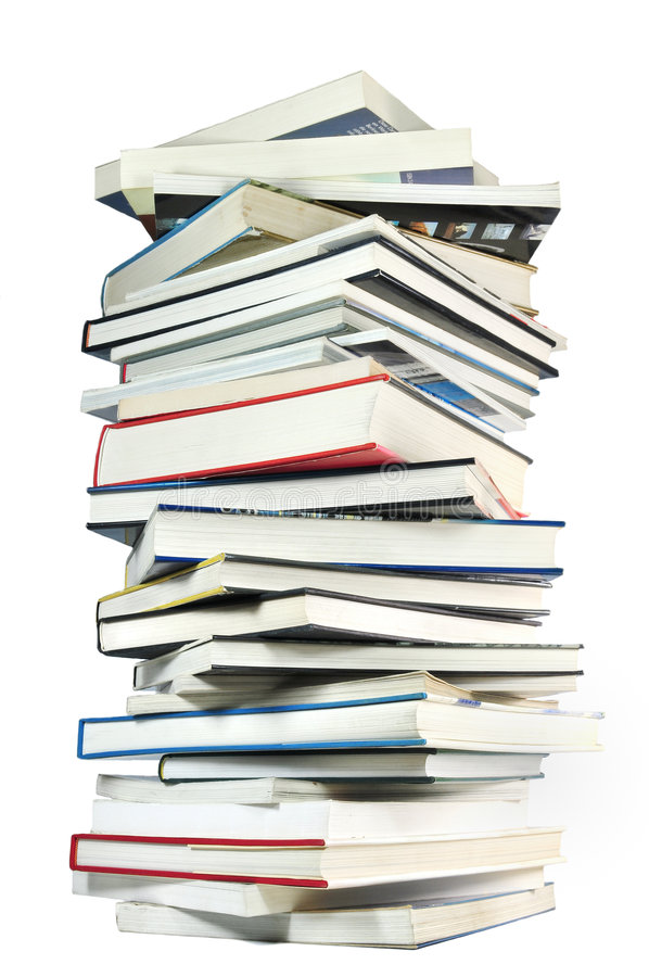 Download Stack of books stock image. Image of numbers, learn, information - 8909127
