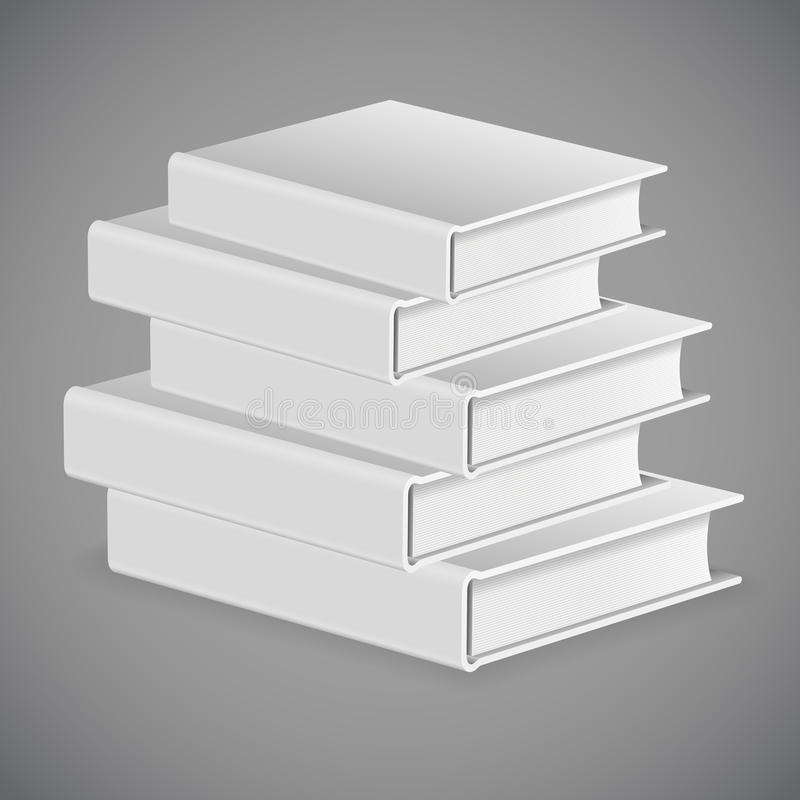 Download Stack of Books stock vector. Image of object, illustration - 43465481