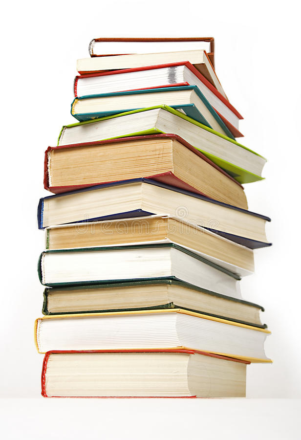 Download Stack of books hard cover stock image. Image of science - 14851943