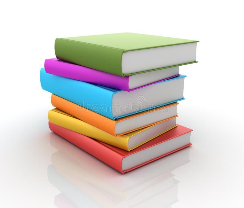 Stack of Books vector illustration