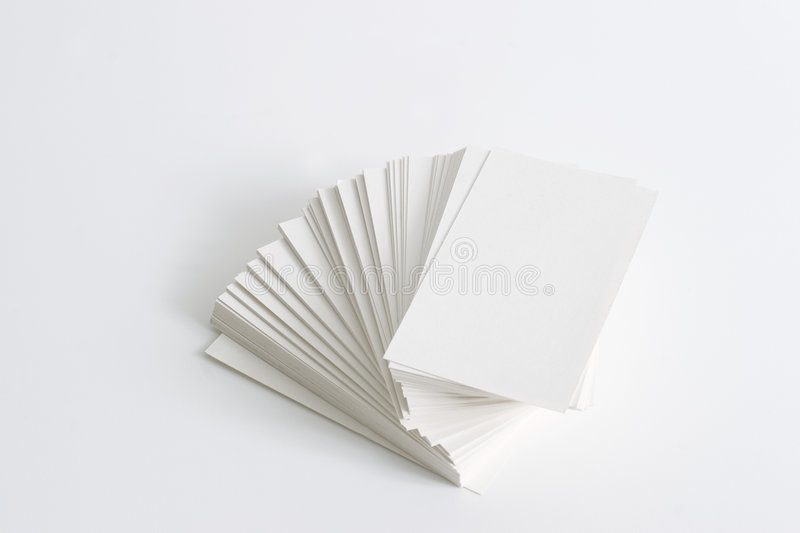 Download Stack Of Business Cards Stock Images - Image: 1437704
