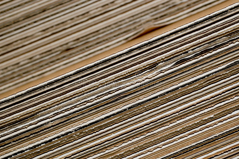 Stack of cardboard stock photos