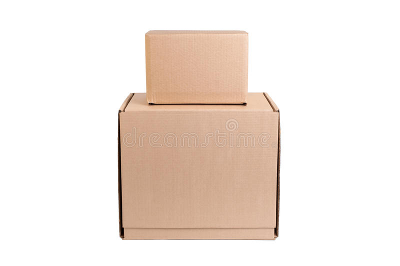 Download Stack of cardboard stock photo. Image of container, boxes - 36336096