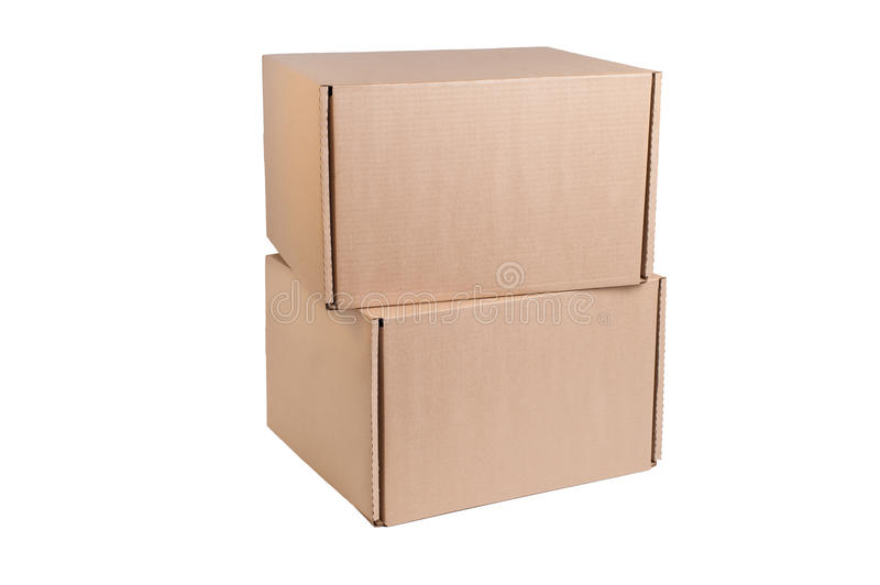 Stack Of Cardboard Royalty Free Stock Photo