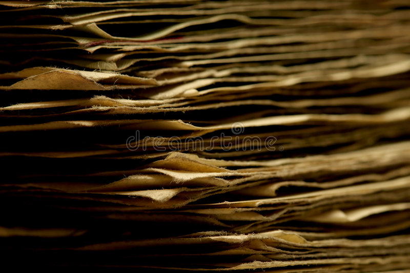 Stack of cash stock image