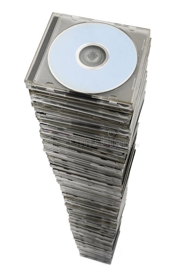 Stack of cd stock photos