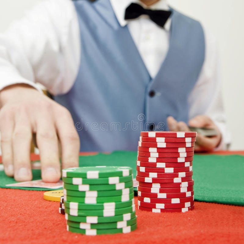 Stack Of Chips Royalty Free Stock Image