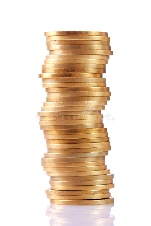 Download Stack of coins stock image. Image of column, finance - 10936425