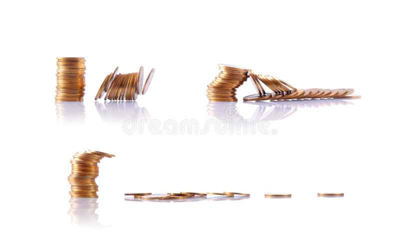 Download Stack Of Coins Royalty Free Stock Photos - Image: 10936448