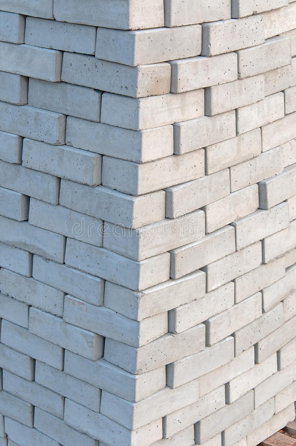 Download Stack of Concrete Brick stock image. Image of material - 36400065