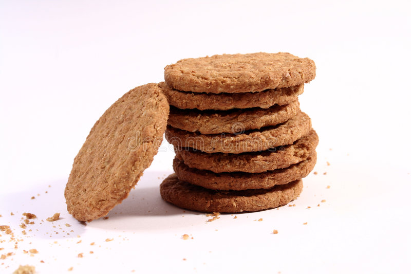 Download Stack of cookies stock image. Image of dessert, pile, cooked - 3140895