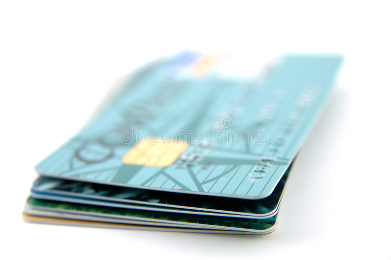 Download Stack Of Credit Cards Stock Photography - Image: 805892