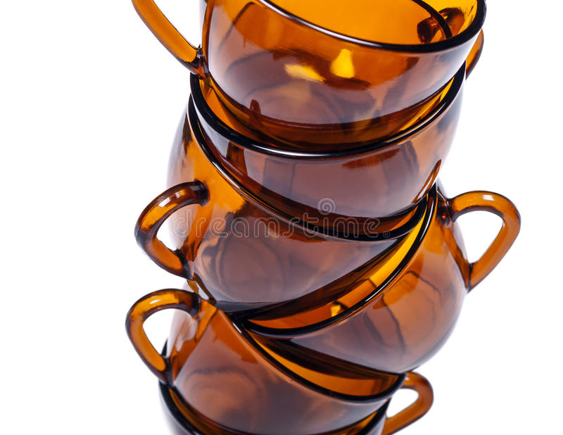 Stack Cups Royalty Free Stock Photos