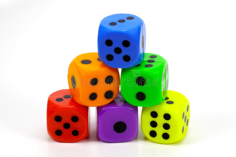 Download Stack Dice stock image. Image of child, roll, wager, square - 84341