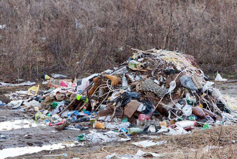 Download Stack Of Different Types Garbage Stock Image - Image: 26125763