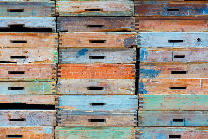 Stack of drawers royalty free stock photo