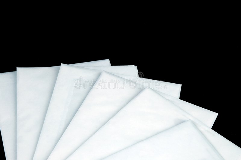 Download Stack of envelopes stock image. Image of background, document - 1708669