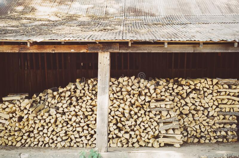 Stack Of Firewoods Free Public Domain Cc0 Image