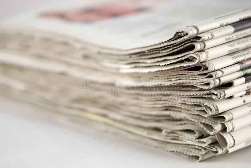 stack gazetowa zdjęcie stock