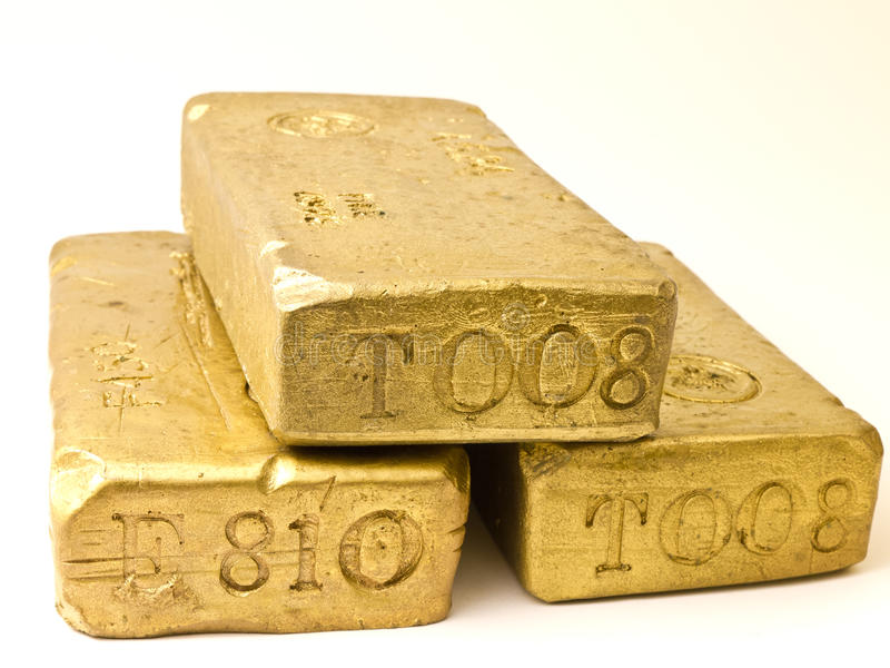 Download Stack of Gold Bricks stock photo. Image of investing - 22824376