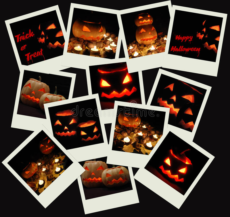 Download Stack Of Halloween Photo Shots Stock Image - Image of collage, halloween: 11584293
