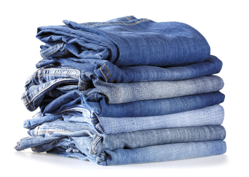 Download Stack Of Jeans Royalty Free Stock Image - Image: 35577766