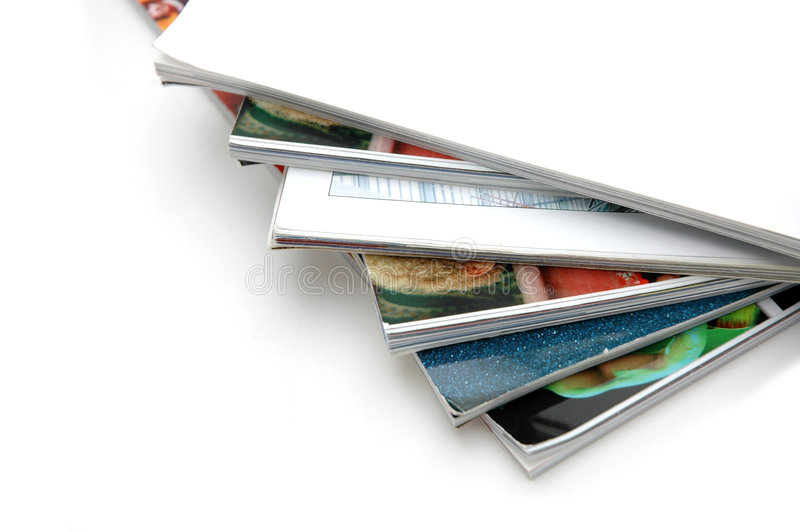 Download Stack of Magazine Closeup stock image. Image of knowledge - 861731