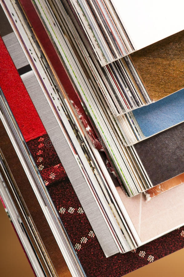 Download Stack of magazines stock image. Image of page, learning - 21616021