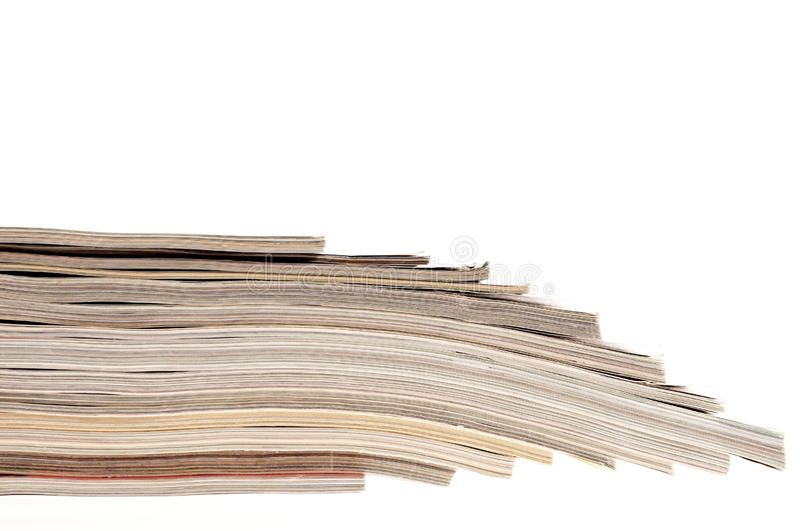 Download Stack of magazines stock photo. Image of closeup, multiple - 21616036