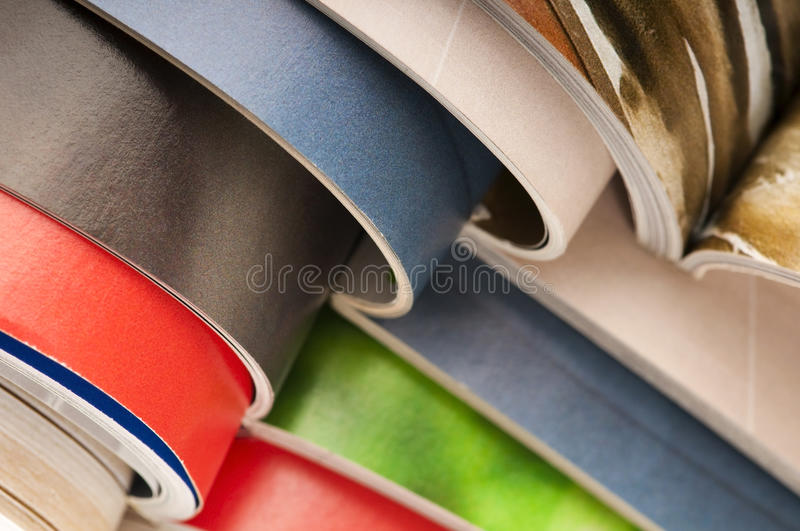 Download Stack of magazines stock photo. Image of education, document - 21616078