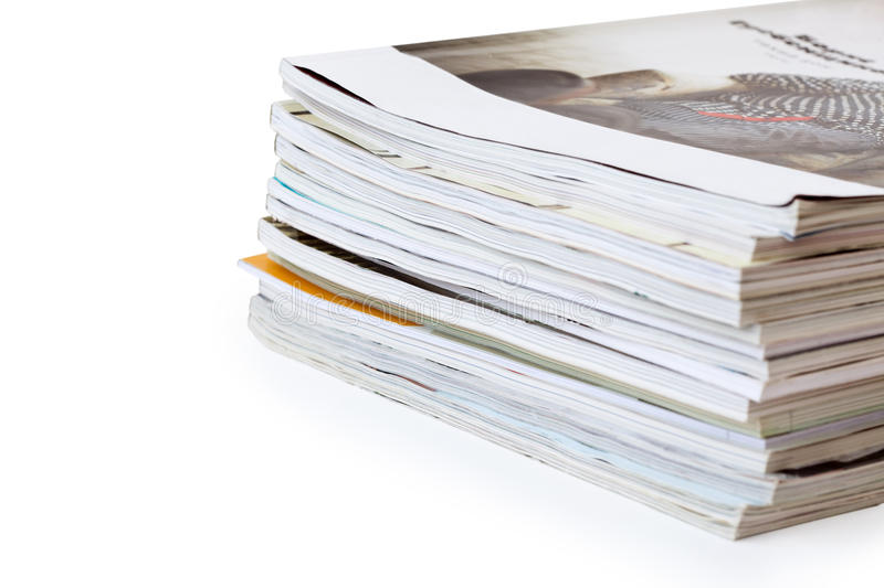 Download Stack of magazines stock image. Image of colorful, journal - 26481511